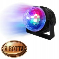 Effetto Luce Rotante 3 Led Multicolor Disco Light Karma CLB 4 Led Magic Light