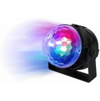 Effetto Luce Rotante 3 Led Multicolor Disco Light Karma CLB 4 Led Magic Light