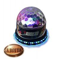 Effetto Luce Rotante 3 Led Multicolor Disco Light Karma CLB 6 Led Magic Light