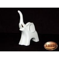 Elefante in Porcellana Bianca da Dipingere e Confezionare - Bomboniere Decoupage