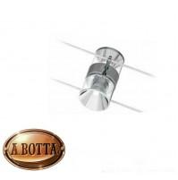 Faretto Orientabile MIZAR Argus 6244-60 Lucido 2X GU5,3 50 Watt per Cavo Tesate