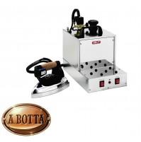 Ferro da Stiro con Caldaia Professionale a Vapore LELIT PG027 in Acciaio Inox