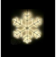 Fiocco di Neve Luminoso 720 Led da Esterno Ø 56 cm - Luce Calda con Timer Natale