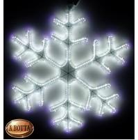 Fiocco di Neve Luminoso 720 Led da Esterno Ø 56 cm Luce Fredda con Timer Natale