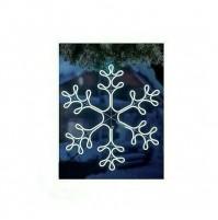 Fiocco di Neve Luminoso con 720 Led da Esterno Ø 60 cm - Luce Fredda Natale Snow