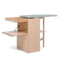 Foppapedretti LoStiro Asse da Stiro con Mobile in Legno Naturale Piano 101x49 cm