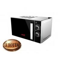 Forno Microonde AKAI AKMW201 Grigio 20 Litri 700 W + Grill 900 W 5 Potenze Timer