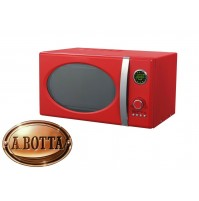 Forno a Microonde Vintage AKAI AKMW203 RED 20 Litri ROSSO 700 W + Grill 900 W