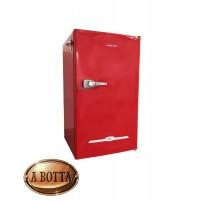 Frigorifero Vintage Sotto Tavolo MASTER CLASS 90 RED A+ 91 Litri Retrò Coca-Cola