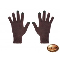 GUANTI CAPACITIVI x Touch Screen HI-GLOVE CLASSIC Hi-Fun Bordeaux Uomo - iPhone