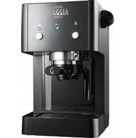 Gaggia RI8423/11 Gran Gaggia Style Macchina Caffè 15 bar Nero Cialde e Macinato