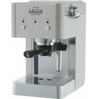 Gaggia RI8427/11 Gran Gaggia Prestige Macchina da Caffè Acciaio Cialde Macinato