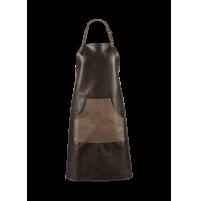 Grembiule da cucina Vegan Leather Marrone ASA Selection 90 x 82 cm