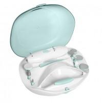 Innoliving Beautè INN-032 Set Manicure e Pedicure 10 Testine con Asciuga Smalto