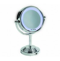 Innoliving INN-029 Specchio Ingranditore Zoom 5x Luminoso con Luce Led Make Up