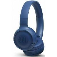 JBL TUNE 500 Cuffie Wireless Bluetooth Sovraurali senza Cavo con Microfono Blu