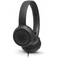 JBL TUNE 500 JBLT500BLK Cuffie Sovraurali con Cavo con Microfono Nero