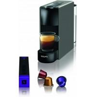Krups XN110B10 Essenza Mini Macchina Caffè Nespresso Grigio Caffettiera Capsule