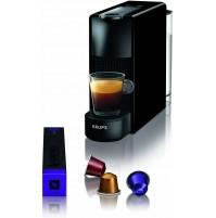 Krups XN110B10 Essenza Mini Macchina da Caffè Nespresso Nero Caffettiera Capsule