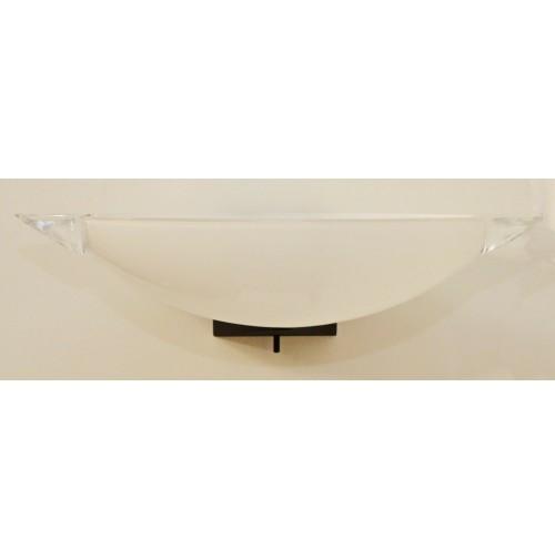 Lampada Applique Barovier&Toso Flu H14 cm L46 cm P25 cm 1xE27 - Con Varioluce