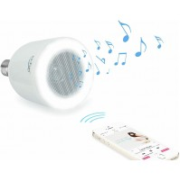 Lampadina LED E27 cn Speaker Bluetooth Integrato 10 Watt HI-LED Originale Hi-Fun