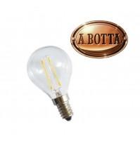 Lampadina LED Stick a Filamento BOT LIGHTING SHOT Pallina Trasparente E14 4 Watt