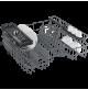 Lavastoviglie 13 Coperti 5 Programmi BEKO DFN05311S SILVER Classe F Largh 60 cm