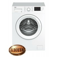 Lavatrice 6 Kg 1000 Giri Classe A+++ Beko WTX61032W Bianco Slim Profondità 49 cm