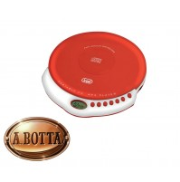 Lettore CD Portatile Trevi CMP 498 Rosso a Batterie AA - MP3 CD Player CMP498