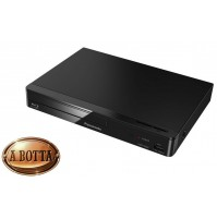 Lettore DVD Blu-Ray Full HD Panasonic DMP-BD84 Nero con WiFi e Internet Apps
