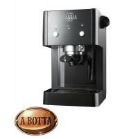 Macchina Caffè 15 bar Gaggia RI8423/11 Gran Gaggia Style Nero Cialde + Macinato