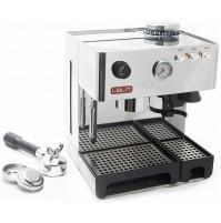 Macchina da Caffè 15 bar LELIT Anita PL042EM in Acciaio Inox con Macinacaffè