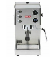 Macchina da Caffè LELIT Victoria PL91T Acciaio Inox Display LCD Caffè Macinato