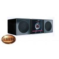 Micro Stereo Hi-Fi con Lettore DVD e Bluetooth Akai AKDV806 Nero 2x5 W Radio USB