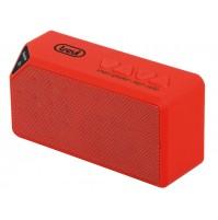 Mini Altoparlante Amplificato Trevi XR 73 BT Rosso con Radio e Bluetooth - Cassa