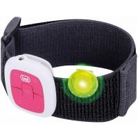 Mini Lettore MP3 Clip con Fascia e Led Lampeggiante TREVI MPV 1703 S Magenta