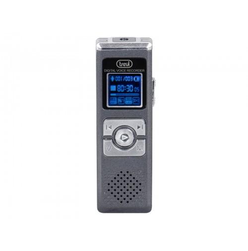 Mini Registratore Memo Audio 580 ore Trevi DR 437 SA con Attivatore Vocale 8 Gb