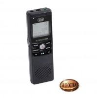 Mini Registratore Vocale Digitale Trevi DR 435 SA Nero con Microfono Memoria 4GB