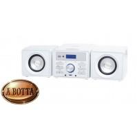 Mini Stereo Hi-Fi 10 Watt Trevi HCX 1030 S Bianco - Radio Lettore CD USB AUX IN