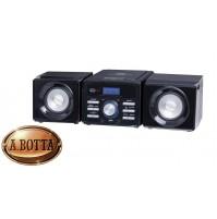 Mini Stereo Hi-Fi 10 Watt Trevi HCX 1030 S Nero - Radio Lettore CD USB AUX IN