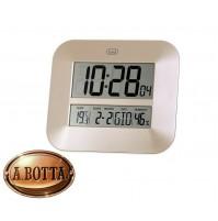 Orologio Digitale Radiocontrollato Trevi OM 3520 Bronzo da Parete e Tavolo Clock