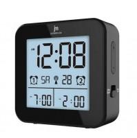 Orologio Doppia Sveglia Radiocontrollata JM JD9518 con Temperatura Interna Data