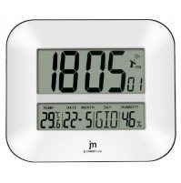 Orologio Radiocontrollato JM JD9902 da Parete e Appoggio con Temperatura Sveglia
