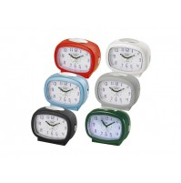 Orologio Sveglia Analogica al Quarzo TREVI SL 3049 Multicolor a Batterie Clock