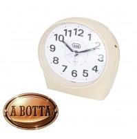 Orologio Sveglia Analogica al Quarzo TREVI SL 3094 V Crema - Alarm Clock