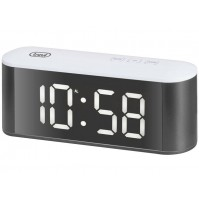 Orologio Sveglia Digitale Trevi EC 883 BL Bianco BIG DISPLAY con Termometro
