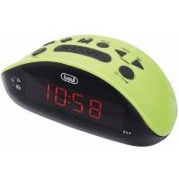 Orologio Sveglia Digitale Trevi RC832 Verde - Radiosveglia