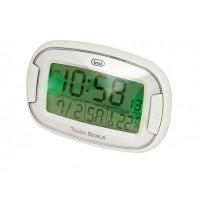Orologio Sveglia Digitale Trevi SLD 3070 Bian Termometro Data Retroilluminazione