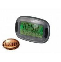 Orologio Sveglia Digitale Trevi SLD 3070 Nero Termometro Data Retroilluminazione