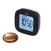 Orologio Sveglia Digitale Trevi SLD 3860 Nero - Termometro Calendario Snooze